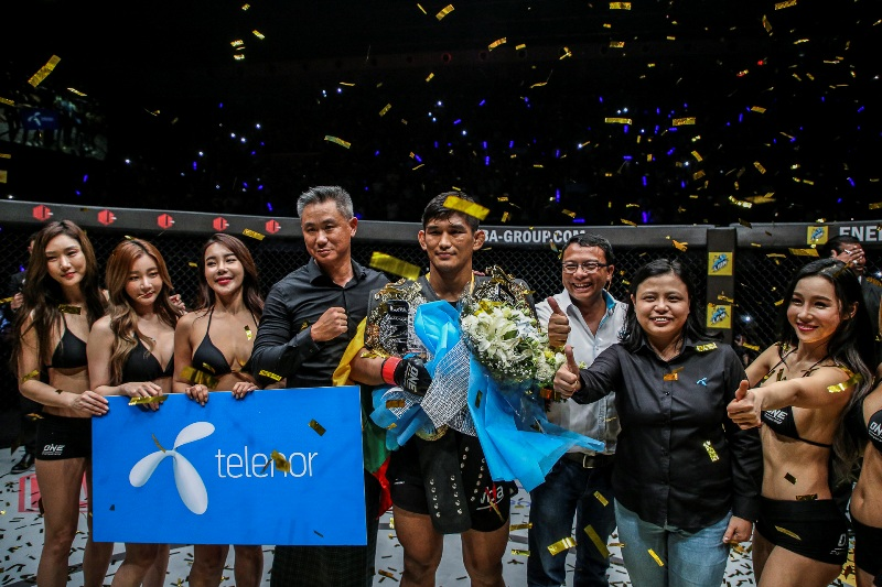 ONE Championship: Aung La N Sang wins second title at 'Quest for Gold'