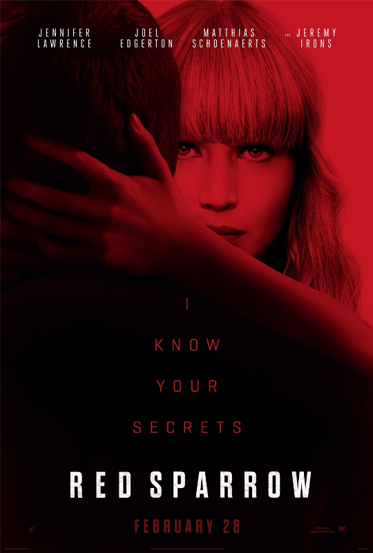 'Red Sparrow' Latest News, Release Date and Update: Jennifer Lawrence levels up in the spy game