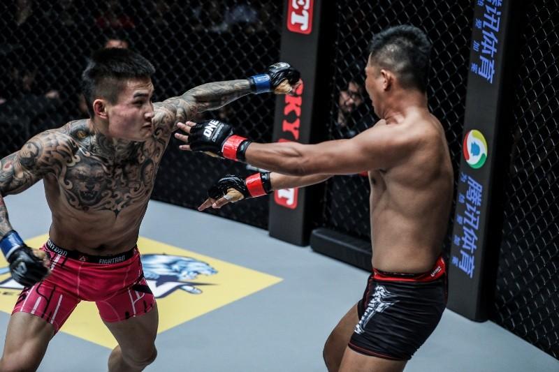 Roel Rosauro vs Li Kai Wen (ONE Championship photo)