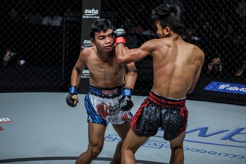 Saw Min Min vs Ye Thway Ne (ONE Championship photo)