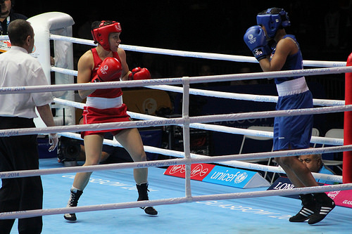 Aussie boxer fights once, loses, but still wins bronze