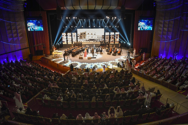 Egypt's National Arab Music Ensemble of the Egyptian Opera House debuts in the Kingdom
