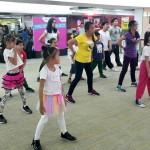 Summer dance program in Ali Mall
