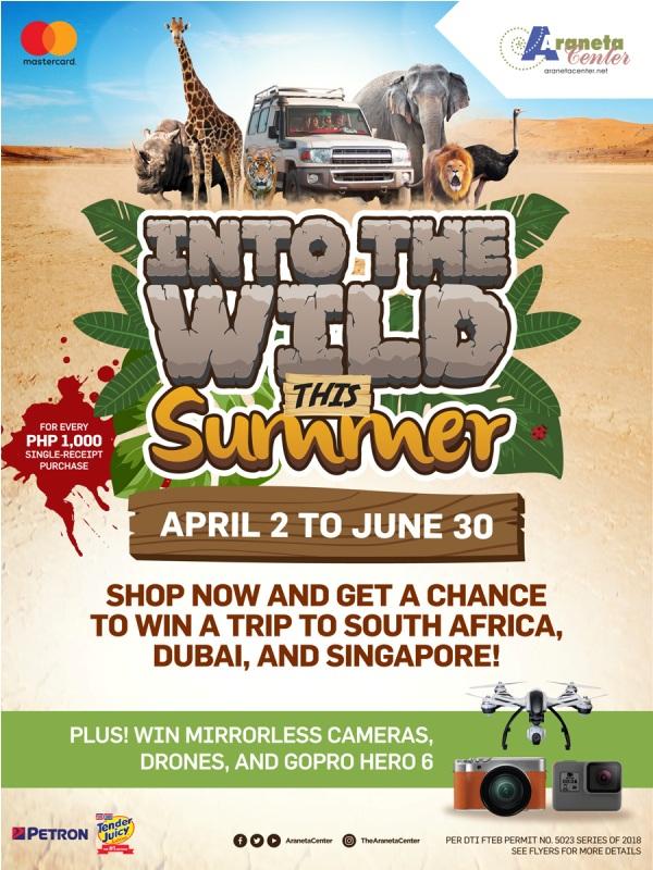 Go on epic adventures with Araneta Center's Summer Promo