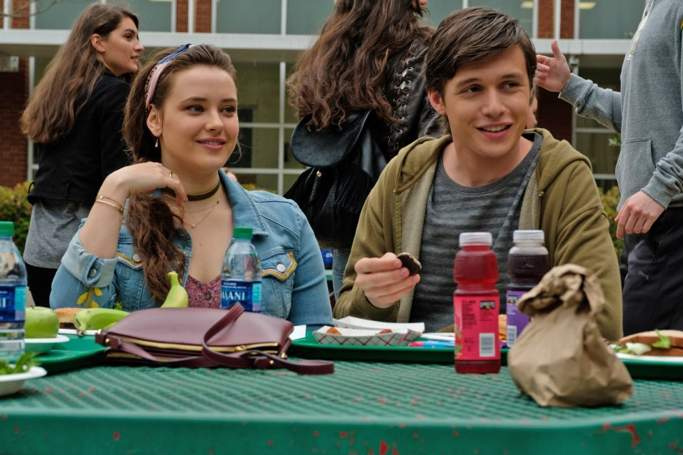 "Katherine Langford and Nick Simon on ""Love, Simon"""