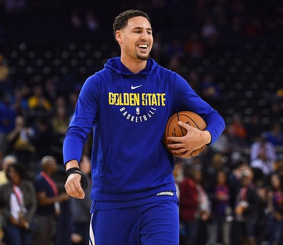 Klay Thompson (Instagram photo)
