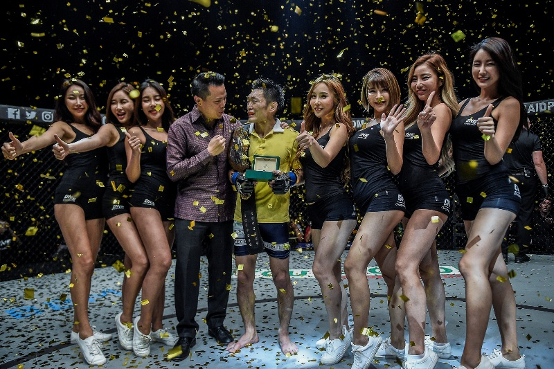 ONE Championship: Naito reclaims title at 'Grit and Glory'