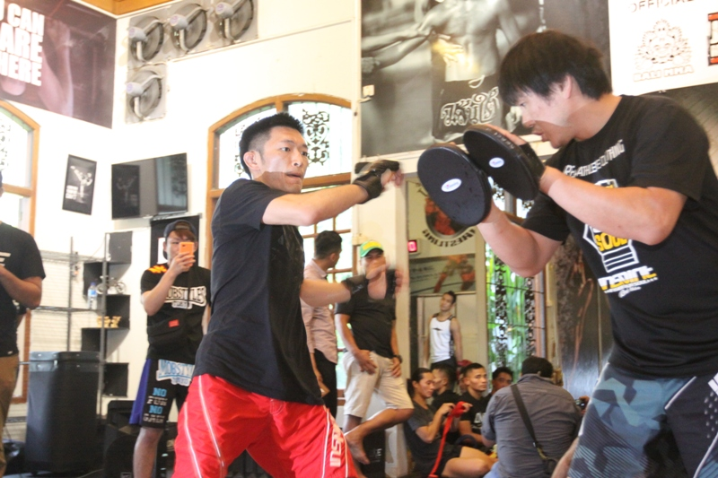 ONE Championship: Silva and Naito face off in open workout
