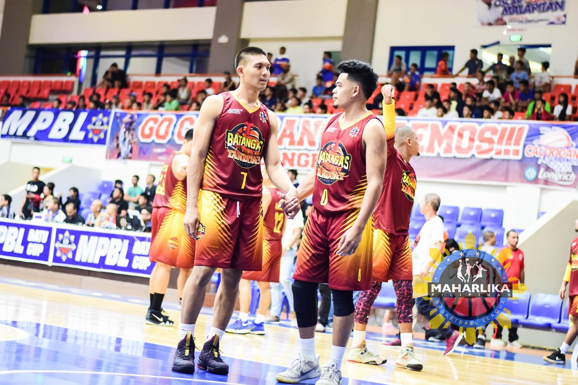 Batangas City Tanduay Athletics (photo from MPBL Facebook)