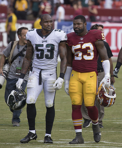 NFL champs lose Bradham one game, Colts' Turbin out four