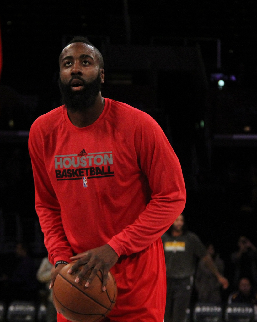 James Harden (photo from Derral Chen | Flickr)