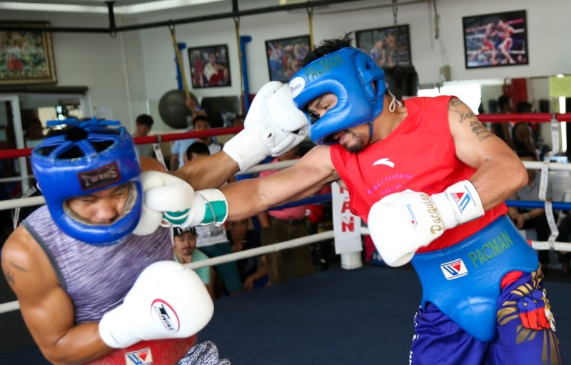 Manny Pacquiao (Photo Credit: Wendell Alinea)