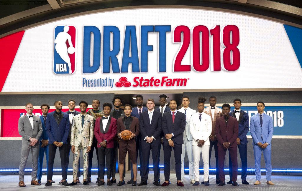 Suns make Bahamas' Ayton the top pick in NBA draft