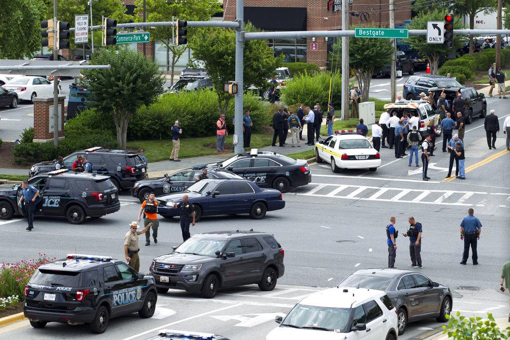 Unnamed Gunman Kills Five at Maryland Newspaper Office