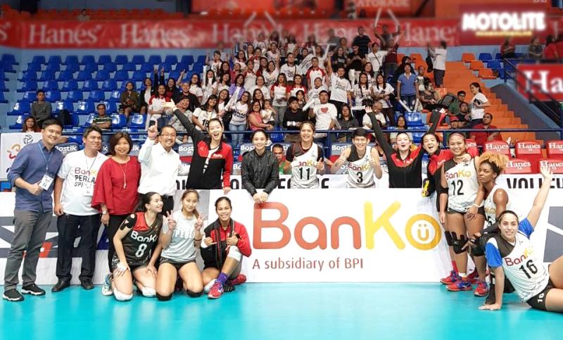 Cohesive BanKo Perlas advances to Final Four