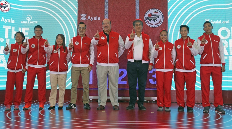 Ayala, Vermosa give PH Tracksters new training facility