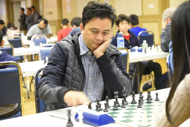 Calvelo settles for tie at Maryland International Chess