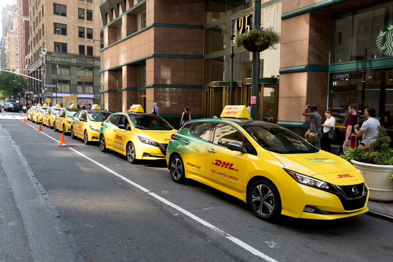 DHL Offers New Yorkers Free Zero-Emission Rides to Promote Sustainability