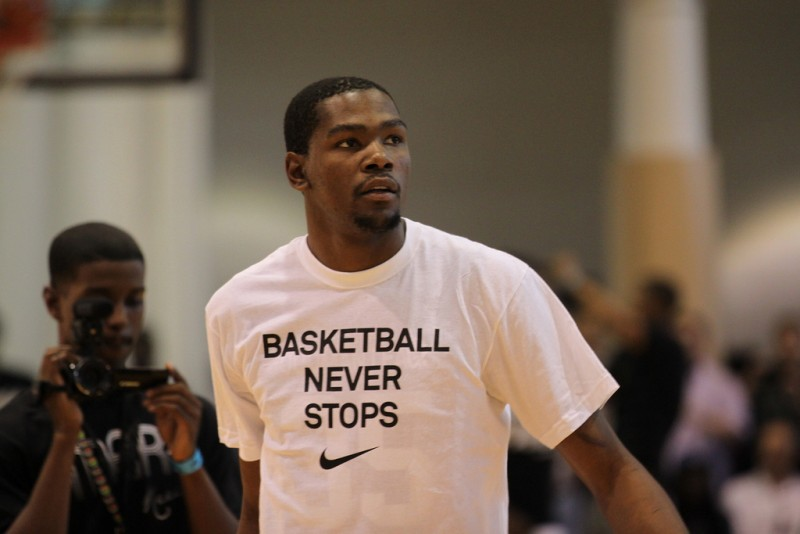 Kevin Durant (Gameface-Photos via Flickr)