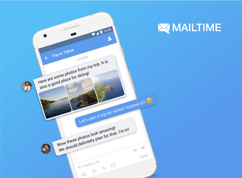 MailTime Messenger Reaches Over 7 Million Downloads
