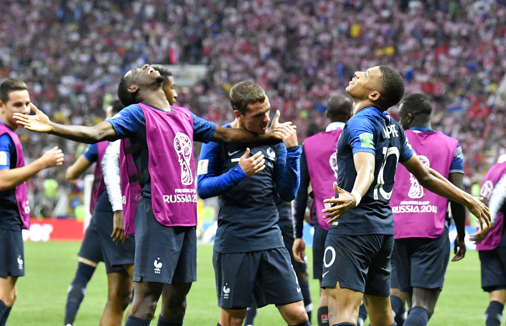France bags 2nd World Cup title