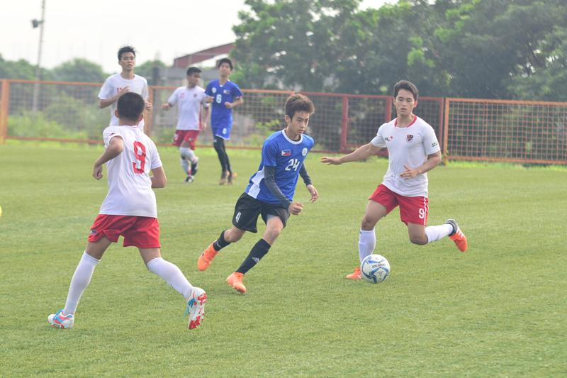 Reinforced PH U16 Men's football team takes on ASEAN's best