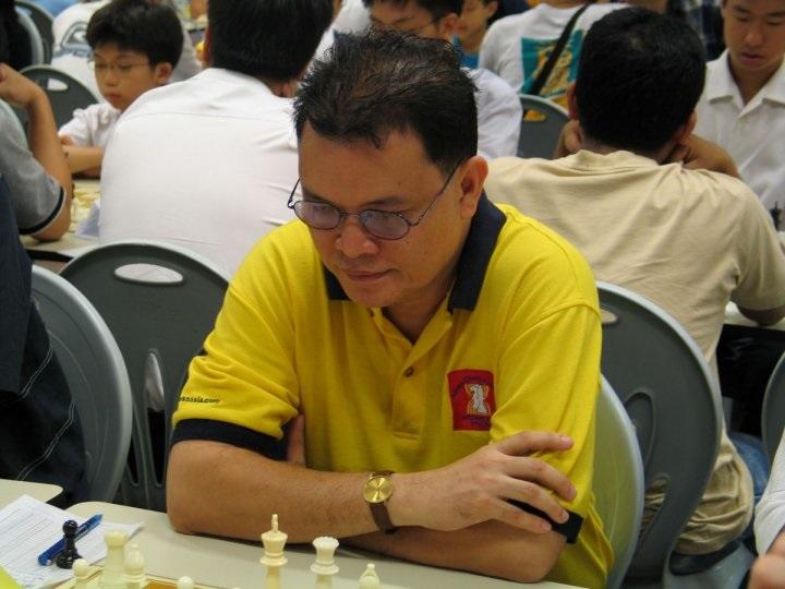 Mascarinas, Bitoon in 4-Way tie at Singapore chess tourney