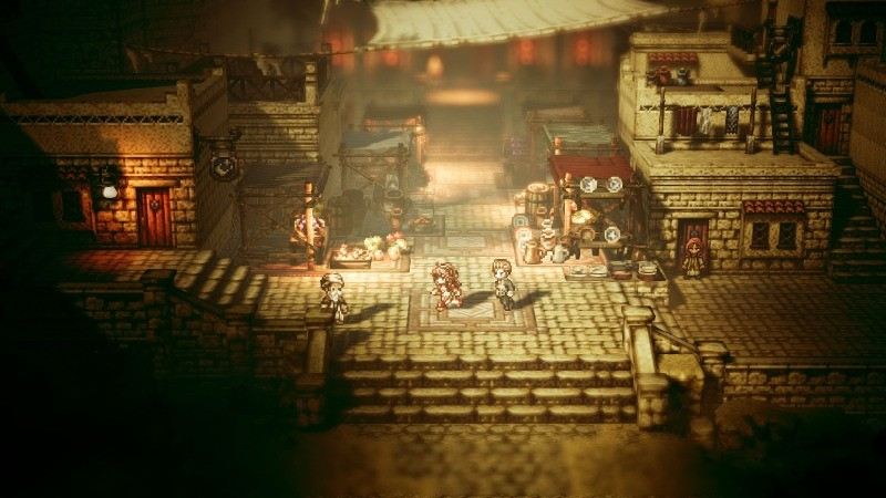 The Octopath Traveler game launches exclusively for the Nintendo Switch system on July 13. (Photo: Business Wire)