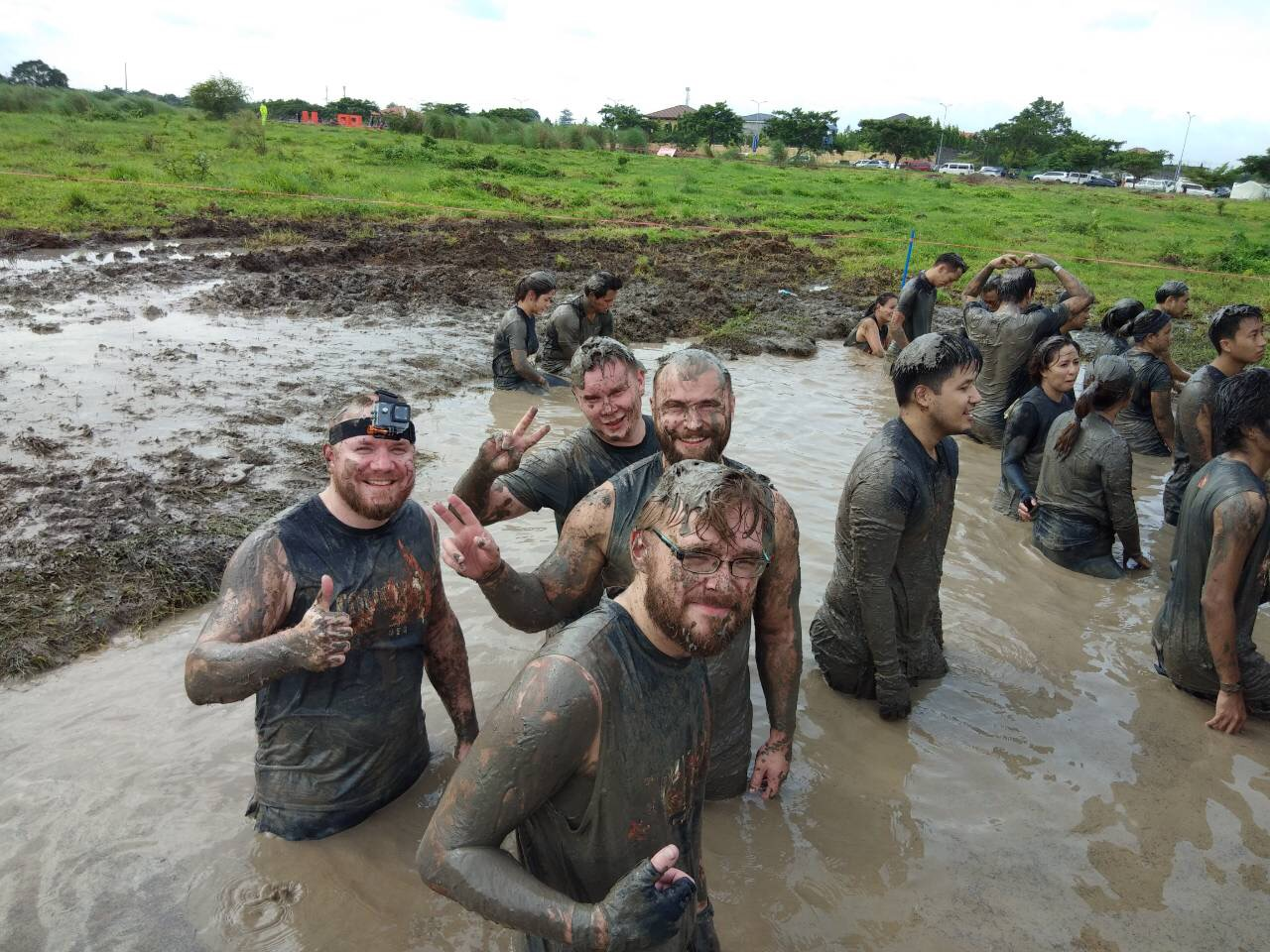Over 2,000 Participants join First Tough Mudder PH event