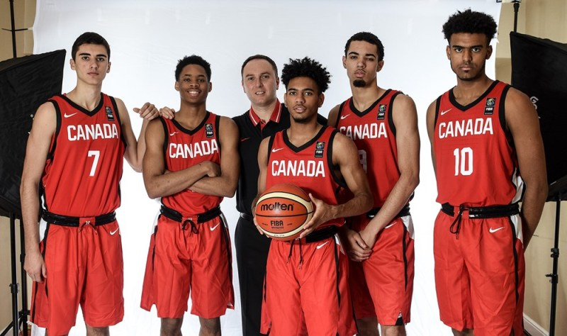Team Canada U17 (photo from FIBA.com)