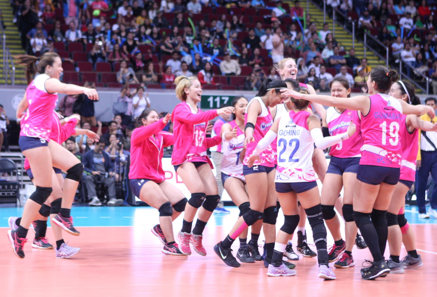 Cool Smashers: Staying hot for next PVL shot