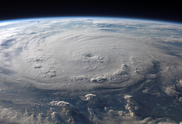 Cyclone Barrels Towards Okinawa
