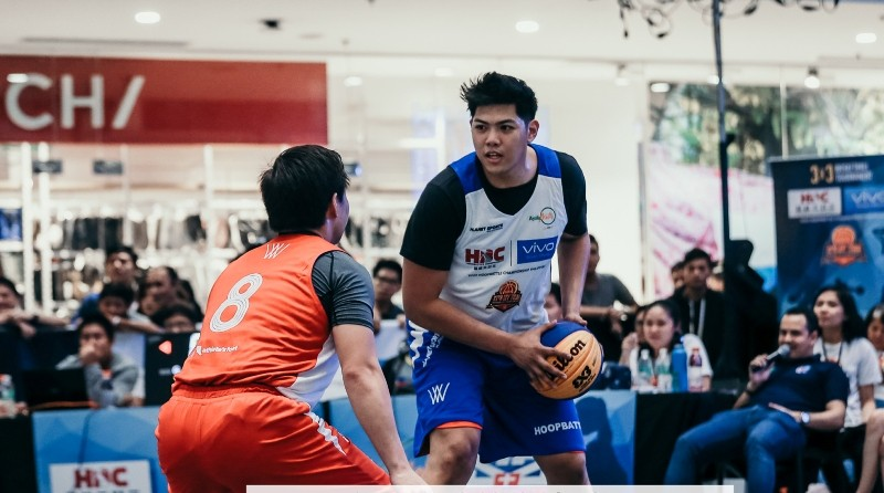 Prince Rivero of Team Coco in action