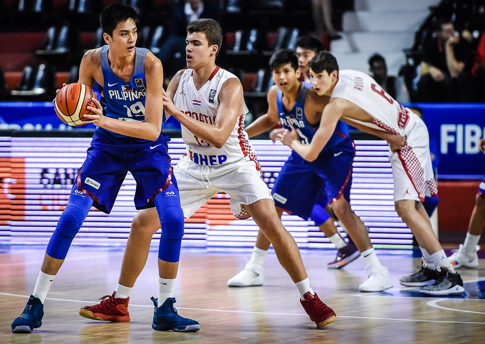 FIBA U-17: Batang Gilas vs Croatia Live Stream [WATCH]