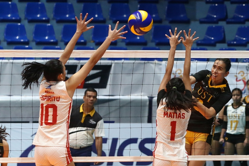 Tigresses clip Red Spikers