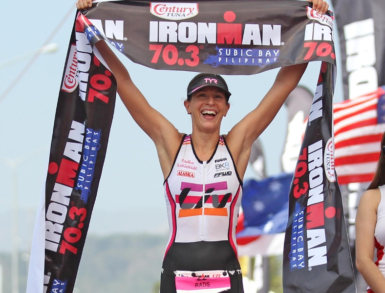 Battle of champs up in Ironman 70.3 Phl