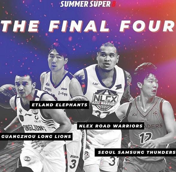 Super 8 Semifinals Cast set