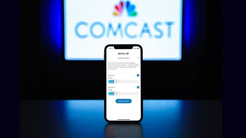Comcast Launches New WiFi Parental Controls Feature