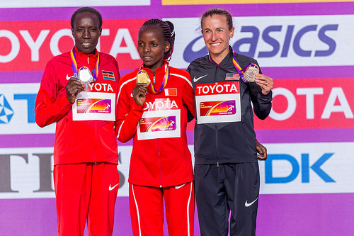 Chelimo wins women's marathon at Asian Games