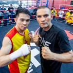 Srisaket Sor Rungvisa and Iran Diaz (ONE Championship photo)