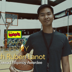 Utilizing basketball as a means to inspire and teach life lessons to underprivileged youth, Coach Ruben Lanot II was recently honored as the Mang Inasal's 2018 Gawad Pilipinoy awardee.