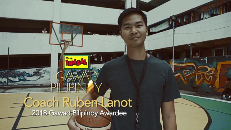 Basketball coach is Mang Inasal's 2018 Gawad Pilipinoy's new hero