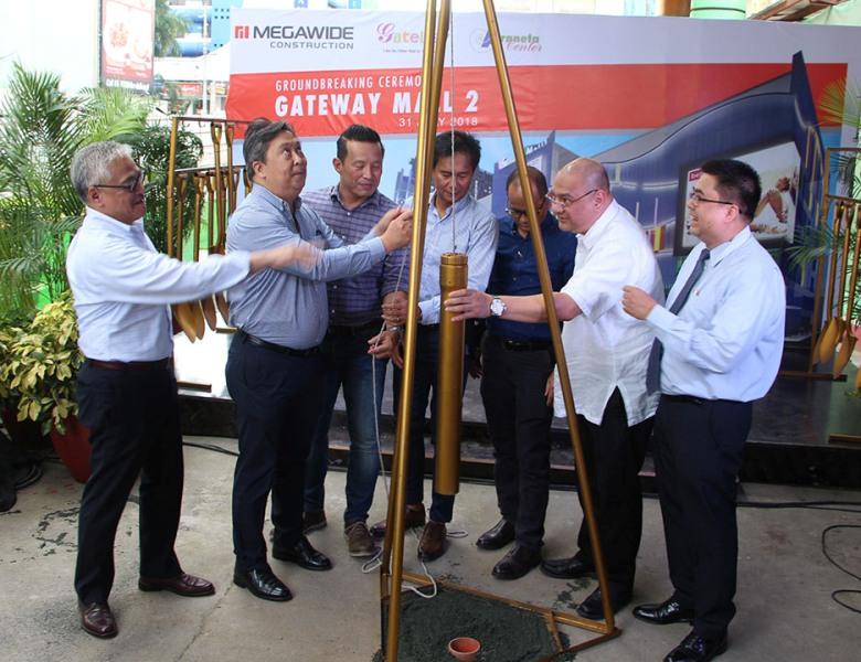 Groundbreaking ceremony held for Araneta Center's Gateway Mall 2