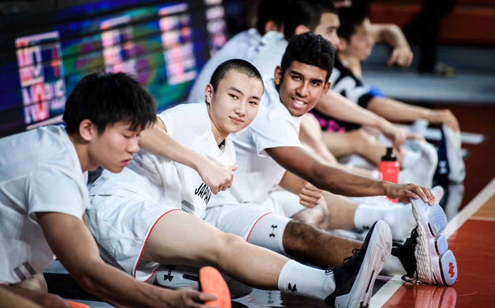 Japan U18 (FIBA Images)