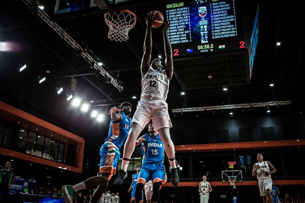 FIBA U18 Asia Live Stream: New Zealand vs India [WATCH]