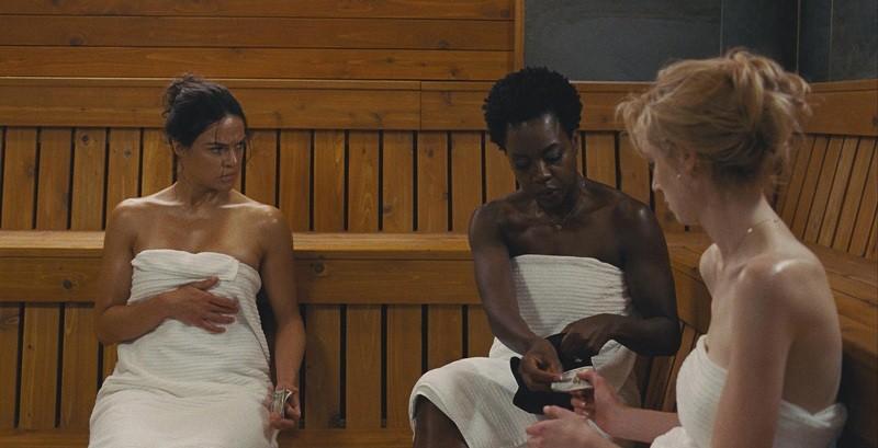Viola Davis, Michelle Rodriguez and Elizabeth Debicki