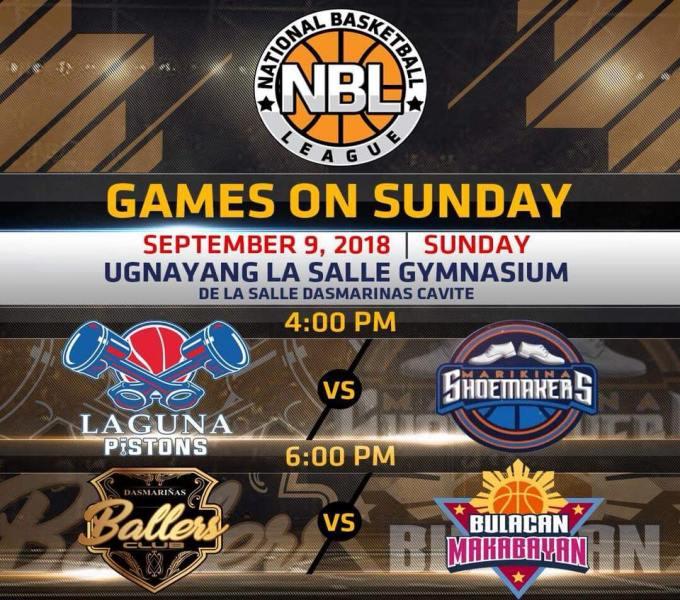 NBL PH Live Stream: Laguna Pistons vs. Marikina Shoemakers [WATCH]