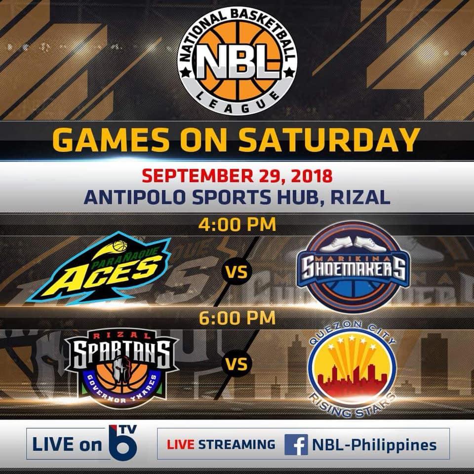 NBL PH Live Stream: Rizal Spartans vs. QC Rising Stars [WATCH]