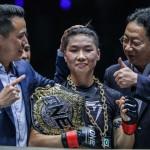 Xiong Jing Nan vs Samara Santos (ONE Championship photo)