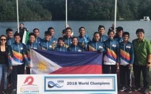 The Philippine Canoe Kayak Dragonboat Federation (Photo courtesy of PSC)